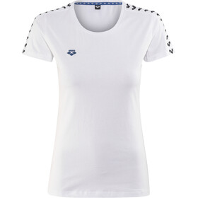 arena Team T-Shirt Damen white-white-black